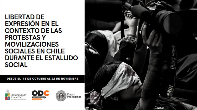 [DESCARGA] Informe «Libertad de expresión en el contexto de las protestas y movilizaciones sociales en Chile durante el estallido social»