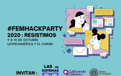 [VIDEO] Revisa aquí las actividades públicas de la #FemHackPartyLAC 2020