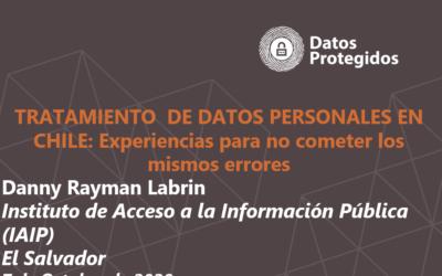 [DESCARGA] Tratamiento de Datos Personales en Chile: Experiencias para no cometer los mismos errores