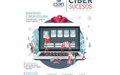 Datos Protegidos es parte de la edición N°5 de la revista «Cibersucesos» de CSIRT del Gobierno de Chile