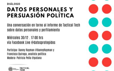 CONVERSATORIO: Datos personales y persuasión política