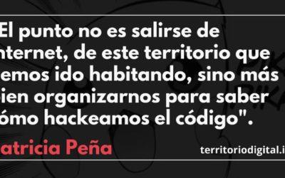 Patricia Peña participó del primer encuentro «Democracia En Suspenso» organizado por Territorio Digital