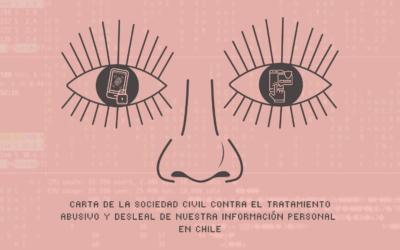 Contra el tratamiento abusivo y desleal de nuestra información personal: Sociedad civil por una autoridad autónoma de protección de datos personales en Chile