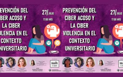 Conversatorio «Prevención del ciber acoso y la ciber violencia en el contexto universitario»  organizado por Universidad Alberto Hurtado